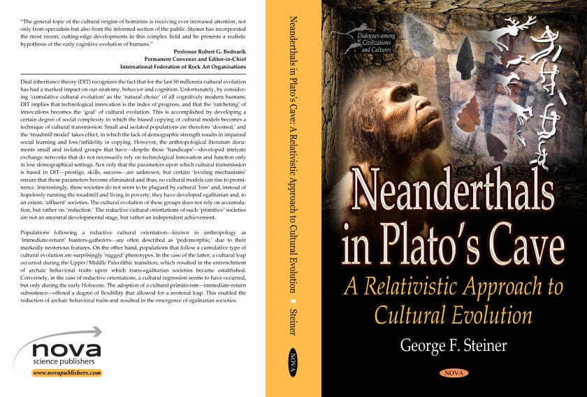 Neanderthals in Plato's Cave ISBN 978-1-53611-940-4
